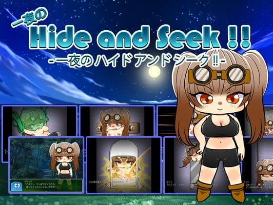 一夜の Hide and Seek !!